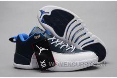premium selection d564f c78d3 Mens Air Jordan 12 Low Obsidian White OG For Sale Christmas Deals KFYN483