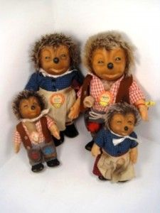 I have these Micki Hedgehog dolls from Germany & I've always loved them!
