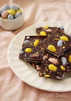 cadbury easter egg bark from @Laura | Tutti Dolci