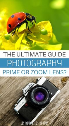 Are you thinking about buying your next camera? The choices are huge and not necessarily simple. Here is an article on the interest to choose a prime lens or a zoom lens ? All the advantages and downsides. Technique Photo, Photography Guide, Learn Photography, Delete Pin, Accessoires Photo, Prime Lens, Lightroom Tutorial, Camera Hacks, Zoom Lens