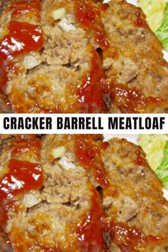 I made this last night with a few variations. I did not have Ritz crackers, so I substituted with Town House Flatbread Crisps. I also added some sweet hot mustard and a dash of Worcester shire sauce. I substituted Parmesan cheese for the cheddar cheese. It was the best meatloaf I have ever tasted! This recipe is a winner. I've made this several times for my family and we all agree it's delicious! #recipe #meatloaf Good Meatloaf Recipe, Best Meatloaf, Meatloaf Recipes, Meat Recipes, Chicken Recipes, Dinner Recipes, Cooking Recipes, Dump Recipes, Crockpot Recipes