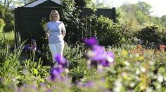 Janette King used to be in communications at HSBC - took redundancy in 2009 and now has her own garden design business. Photographed at her home in Northiam near Rye. New Leaf, Rye, Business Design, Garden Design, King, Formal Dresses, Fashion, Dresses For Formal, Moda