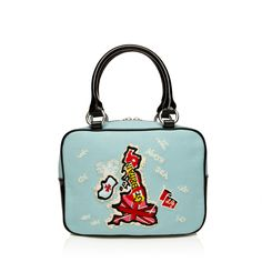 Aqua World Is Your Oyster Small Jenny | Handbags | Designer Bags | Lulu Guinness