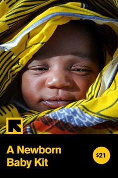 $21 sends a new mom in Zimbabwe a newborn baby kit. Send this gift in honor of a friend or loved one!