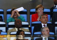 Les réactions d'Angela Merkel et de Dilma Roussef après de chaudes actions - http://www.actusports.fr/112456/les-reactions-dangela-merkel-et-de-dilma-roussef-apres-de-chaudes-actions/