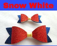 He encontrado este interesante anuncio de Etsy en https://www.etsy.com/es/listing/246111255/disney-inspired-snow-white-hair-bows