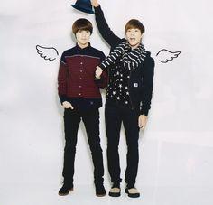 Taemin and Jonghyun -SHINee
