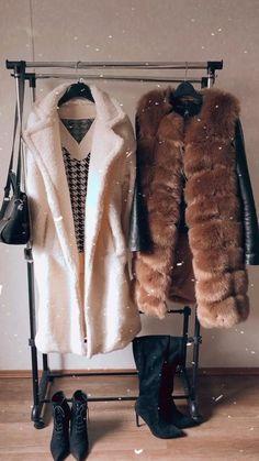 """Medium faux fur vest """"Laila"""" in light brown color. #womenfashion #fashionideas #winteroutfits Long Vests, Artificial Leather, Faux Fur Vests, Winter Outfits, Fur Coat, Bohemian, Elegant, Medium, Brown"""