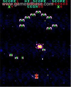Phoenix - Arcade - Artwork - In Game Old School Arcade Games, School Games, Aesthetic Themes, Retro Aesthetic, Cooking Pork Tenderloin, Game Gui, Vintage Video Games, Retro Arcade, School Videos