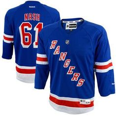 Rick Nash New York Rangers Blue Home Stitched NHL Jersey 95b13659f