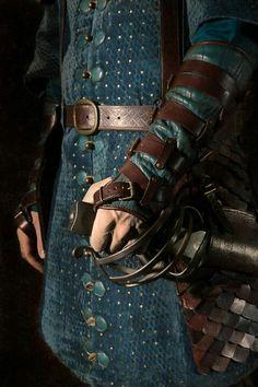 Palace guard uniform | Blue tunic | Medieval garb | Fantasy world inspo