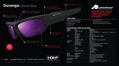 PivotHead sunglasses/ image stabilized, HD video camera... nice