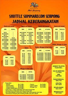 Summarecon Mal Serpong | Jadwal Shuttle Summarecon Serpong