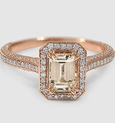 stunning design. id like it in yellow gold with a diamond center stone