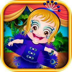 Its a fancy dress competition in Baby Hazel's school. Enjoy dressing up her in peacock costume and accessories. https://play.google.com/store/apps/details?id=air.org.axisentertainment.BabyHazelFancyDress