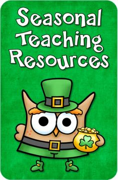 Seasonal Teaching Resources from Laura Candler - newly updated with March freebies and teaching resources