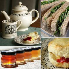 Recipes for a British-Inspired Tea Party With Friends: When it's cold out, what better way to woo your friends over for a chat than a fun tea party with hot drinks and tasty treats? From finger sandwiches to easy scones, we've rounded up 11 great recipes for a tea party -- click through to plan a perfect menu!