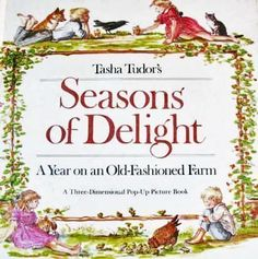 Tasha Tudor SIGNED Pop-Up 'Seasons of Delight' 1st Ed - Illustrated, from tapestrycollectibles on Ruby Lane