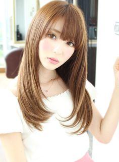 大人可愛い☆小顔効果カットロング☆ 【jiji by WORTH WHILE】 http://beautynavi.woman.excite.co.jp/salon/26350?pint ≪ #longhair #longstyle #longhairstyle #hairstyle ・ロング・ヘアスタイル・髪型・髪形≫