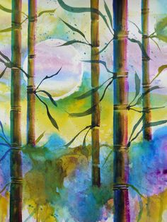 """For Sale: Ruskin Bamboo Moon by Chris Blevins 