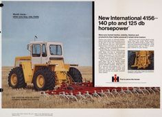 Advertising proof created by Foote, Cone & Belding for the International Harvester Company. Chevy Trucks Older, Old Ford Trucks, Lifted Chevy Trucks, Pickup Trucks, Farmall Tractors, Old Tractors, International Tractors, International Harvester, Old Advertisements