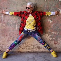 Ícones de estilo no Instagram, idosas inspiram autenticidade no visual - UOL Estilo de vida