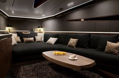 Hedonist Yacht Salon Design