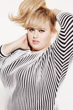 Rebel wilson is funny, successful and famous - but unlike most female celebrities she doesn't care about her weight, she knows she's perfect just the way she is.