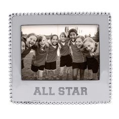 Mariposa All Star 5x7 Picture Frame