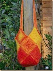 crochet sun bag