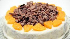 Ukens matblogg: Saftig appelsinkake med revet sjokolade