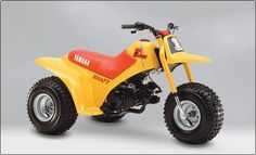This is a 1984 tri zinger made by Yamaha one of the faster four wheelers.