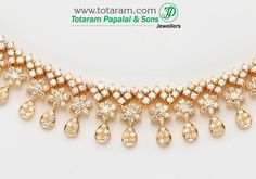 Check out the deal on 18K Gold Diamond Necklace & Earrings Set at Totaram Jewelers: Buy Indian Gold jewelry & 18K Diamond jewelry