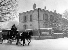 La maison de Picasso Montrouge 1945 |¤ Robert Doisneau | 14 janvier 2016 |  Atelier Robert Doisneau | Site officiel