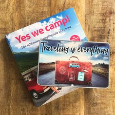 Cadouri - handmade Shop   mit Liebe hergestellte Produkte für Zwei- & Vierbeiner   Blechdose TRAVELING IS EVERYTHING Travel, Blue Butterfly, Tin Lunch Boxes, Wrapping Papers, Goodies, Packaging, Viajes, Trips, Tourism