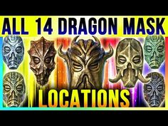 Skyrim All 14 Dragon Priest Mask Locations In Special Edition & DLC Dragonborn (TOP 10 Best Masks) - YouTube