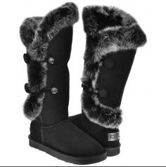 Australia Luxe Collective Womens Nordic Angel Shearling Fur X Tall