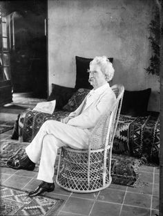 Mark Twain, 1900 Mark Twain, All Quotes, Best Quotes, Uncle Albert, Usa People, Life Questions, Pictures Of The Week, Cool Words, New Books