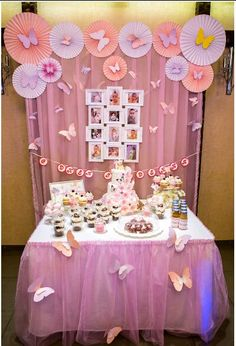 Baby Birthday Themes Butterfly Party Disney Unicorn 1st