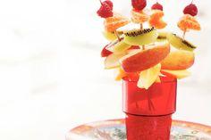 Kijk wat een lekker recept ik heb gevonden op Allerhande! Fruitprikkers