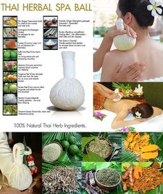 Aromatic Thai Herbal Body Compress Ball 6.7 oz 190 by Herbs4Health