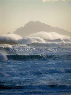 Moody ocean - LagoonAndSea, Hermanus District, Cape Whale Coast, South Africa. South Africa, Whale, Destinations, Coast, Ocean, Beach, Blue, Outdoor, Home