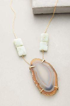 Pedra Azul Necklace - anthropologie.com $218