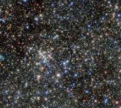 Uncovering the secrets of this cluster of stars near the center of our galaxy: http://go.nasa.gov/1TI46HU #@NASA_Hubble