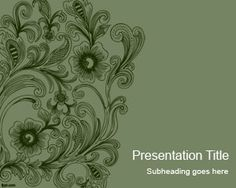 Many free #PowerPoint templates  http://www.free-power-point-templates.com/vintage-swirls-powerpoint-template/