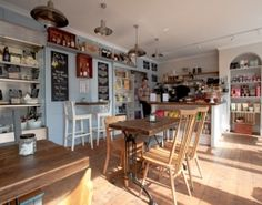 The wonderful Dorking Deli is a great supporter of local food and drink, and a fab place for a coffee and cake break: http://localfoodbritain.com/surrey/shops/delis/the-dorking-deli/