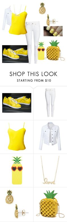 """🍍Pineapple Fit🍍"" by key12 ❤ liked on Polyvore featuring Versus, LE3NO, Charlotte Russe, Sydney Evan and Marc Jacobs"