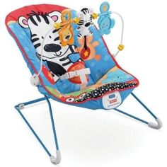 Fisher-Price Adorable Animals Babys Bouncer