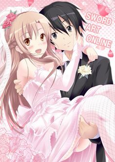 Sword art online s kirito x asuna wedding