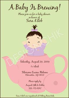 DESIGNCHIK -Baby shower tea party